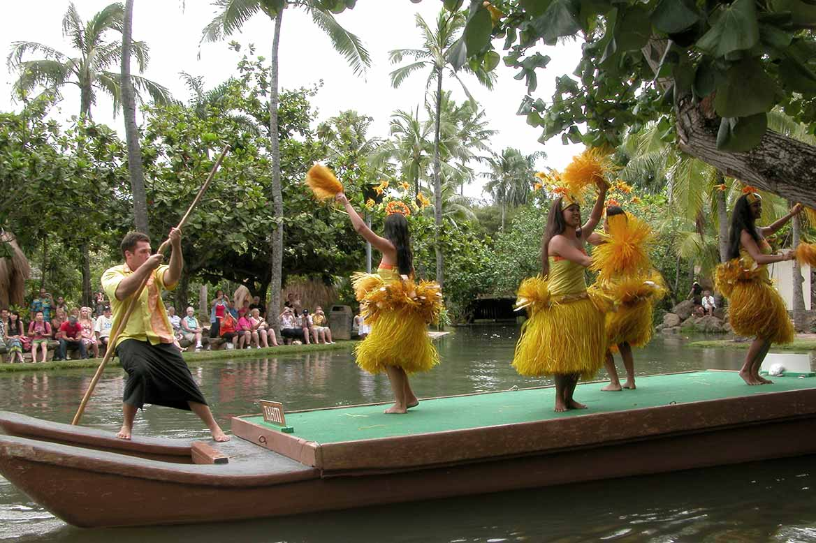 Hula-dance